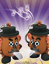 Недорогие -смешно яйцо MR. Картофельная Голова индикатор звука брелок