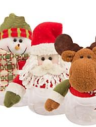 Недорогие -ручная Санта-Клаус снеговика конфеты банку на Рождество (1 шт)
