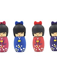 cheap -8GB Cartoon Japanese Doll USB Flash Pen Drive