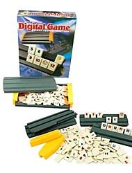Недорогие -Оригинальный путешественник захватывающим классический Rummikub встроенным цифровым игра для всех