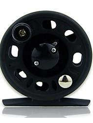 cheap -Fishing Reel Fly Reel 5.5:1 Gear Ratio 2 Ball Bearings for Sea Fishing / Fly Fishing / Spinning