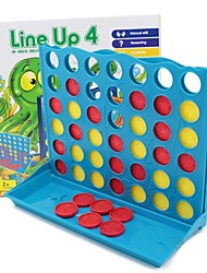 cheap -Line Up 4 Board Game Family Fun Educational Toy