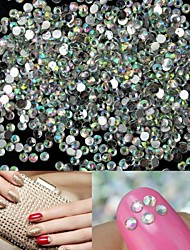 cheap -1400 pcs Acrylic Nail Jewelry Rhinestones For Finger nail art Manicure Pedicure Wedding