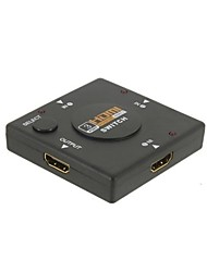 cheap -3 Port HDMI Switch Switcher Splitter fo HDTV 1080P 3in1
