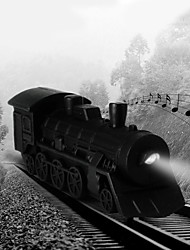 Недорогие -старинные паровоз индикатор звука брелок