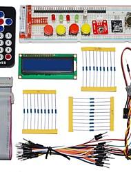 abordables -KEYES pièces électroniques emballent pour Raspberry Pi (télécommande noir)