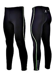 cheap -WOLFBIKE Men's Running Tights Bike Tights Reflective Strips Sports Spandex Green / Blue Mountain Bike MTB Road Bike Cycling Clothing Apparel Advanced Relaxed Fit Bike Wear / High Elasticity