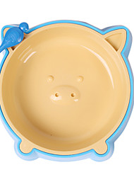 cheap -Pig Pattern Food Bowl for Pets Dogs