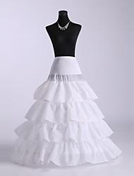 cheap -Wedding Slips Chinlon Floor-length A-Line Slip Ball Gown Slip With