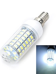 cheap -LED Corn Lights 1100-1200 lm E14 T 69 LED Beads SMD 5730 Warm White Cold White 220-240 V / 1 pc / RoHS / CE Certified