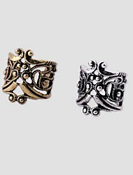 cheap -Hollow Ear Cuff - Gold Plated Silver / Bronze For Wedding / Party / Daily