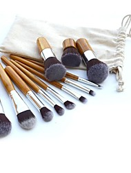 cheap -Professional Makeup Brushes Makeup Brush Set 11pcs Synthetic Hair / Artificial Fibre Brush Makeup Brushes for Makeup Brush Set