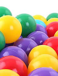 Недорогие -50 шт красочные пластиковые океан мяч, играя бассейн вода игрушки (случайный цвет)