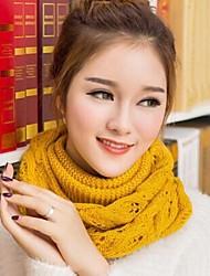 cheap -Women Knitwear Scarf , Casual