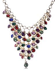 cheap -Women's Vintage Tassel Rhinestone Necklace