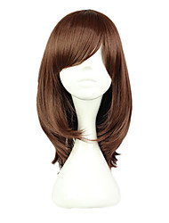 cheap -Cosplay Cosplay Cosplay Wigs Women's 16 inch Heat Resistant Fiber Brown Anime