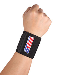 cheap -SHUOXIN Hand & Wrist Brace Wrist Support Wrist Protection for Hiking Running Jogging Outdoor Adjustable Stretchy Silicon Nylon 1pc Sports Outdoor Black