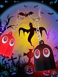 Недорогие -прекрасный призрак индикатор звука брелок (черный&красный)