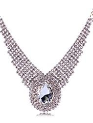 cheap -Women's Europe Rhinestone Stone Necklace