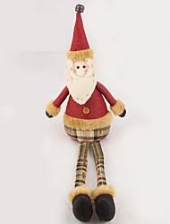 Недорогие -Рождество Санта-Клаус с длинными ногами куклы рождественский подарок