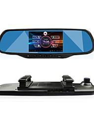 """Недорогие -Посмотреть GT 5,0 """"сенсорный Android GPS-навигация Bluetooth Wi-Fi 1080p с двумя объективами зеркало заднего вида тире Автомобильный видеорегистратор"""