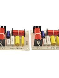 Недорогие -ол-200k 180w HiFi 2 полосный кроссовер фильтры для 2 динамиков делителя частоты аудио система (2шт)