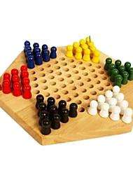 Недорогие -Настольные игры Шахматы Дерево Детские Взрослые Мальчики Девочки Игрушки Дары