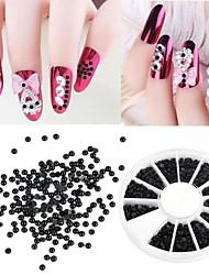 cheap -1200-pcs-2mm-manicure-pearl-flat-semicircular-boxed-black-pearl-nail-art-decorations