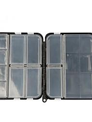 Недорогие -Коробка для рыболовной снасти Жесткие пластиковые 12 cm 3.2 cm
