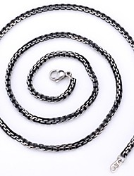 cheap -Men's Dookie Chain Ladies Vintage Party Work Alloy Black Necklace Jewelry For