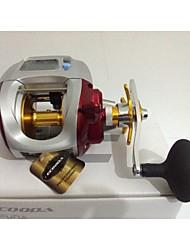 cheap -Fishing Reel Baitcasting Reel 5.1;1 Gear Ratio 4 Ball Bearings for Trolling & Boat Fishing