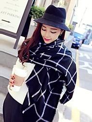 cheap -Women's Fashion All-Matching Grid Shawls
