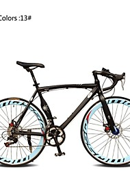 cheap -Road Bike Cycling 7 Speed 26 Inch / 700CC SHIMANO TX30 Double Disc Brake Ordinary Monocoque Ordinary / Standard Aluminium Alloy