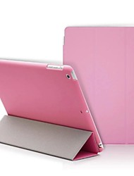cheap -Case For iPad 4/3/2 Solid Color / Folio Case Novelty PU Leather
