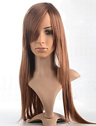 cheap -Synthetic Wig Straight Wig Light Brown Brown