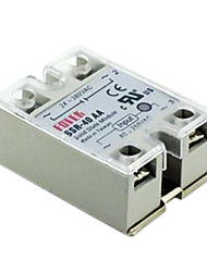 cheap -FOTEK Solid State Relay SSR-40AA AC-AC 40A 80-250V/24-380V with cover