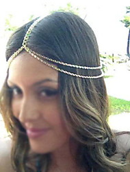 cheap -Women's Party Jewelry Vintage Alloy Headbands Hair Charms Wedding Party