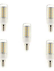 cheap -5pcs 5 W LED Corn Lights 450 lm E14 G9 E26 / E27 T 56 LED Beads SMD 5730 Warm White Cold White 220-240 V / 5 pcs