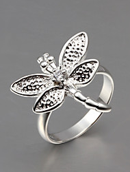 cheap -Silver Screen Color Sterling Silver Silver Animal Statement Party Jewelry Butterfly Animal