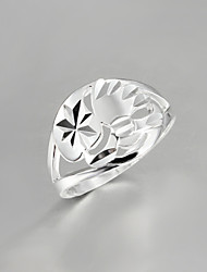 cheap -2016 Noble Hot Fashion Women 925 Sterling Silver Statement Ring