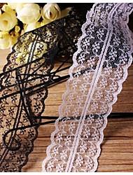 abordables -Créatif Couleur unie Ruban Satin Rubans de mariage Pièce / Set Ruban satiné Ruban tissé Déco de Mariage Unique Décorer le porte cadeau