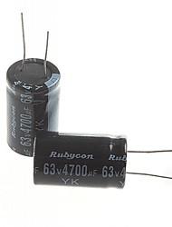 cheap -Electrolytic Capacitor 4700UF 63V (2pcs)