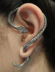 cheap -Women's Ear Cuff Snake Fashion Earrings Jewelry Screen Color For