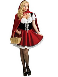 cheap -Fairytale Cosplay Costume Women's Halloween Carnival Festival / Holiday Terylene Women's Carnival Costumes / Cloak