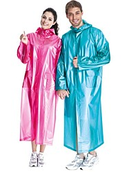 cheap -Women's Unisex Hiking Raincoat Outdoor Waterproof Windproof Rain Waterproof Quick Dry Spring Summer Fall Winter Jacket Raincoat Top Swimming Camping / Hiking Fishing Red Blue Pink / Stretchy
