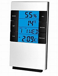 cheap -Alarm clock Digital Plastic LED 1 pcs