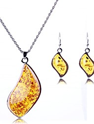 cheap -Women's Fashion Irregular Pendant Jewelry Set(Including Necklaces Earrings)