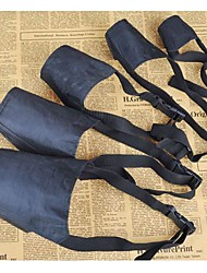 cheap -Dog Muzzle Adjustable / Retractable Textile Black