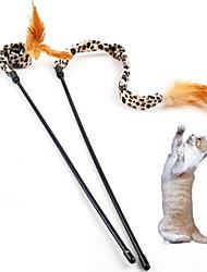 cheap -Cat Teasers Cat Kitten Pet Toy Leopard Textile Gift