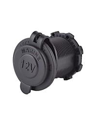 cheap -Waterproof Power Socket Car Motorcycle Plug 12V 24V